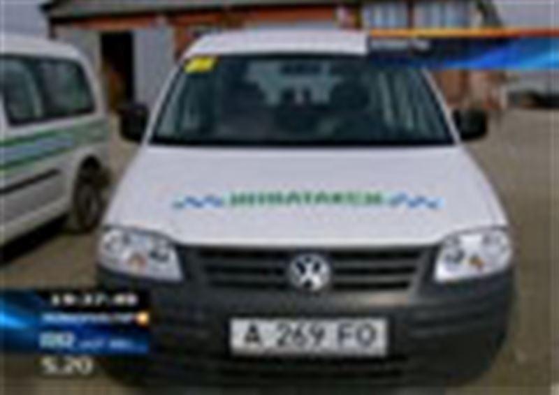 В Алматы простаивает целый автопарк инвалидных такси – у городских властей нет денег на их обслуживание