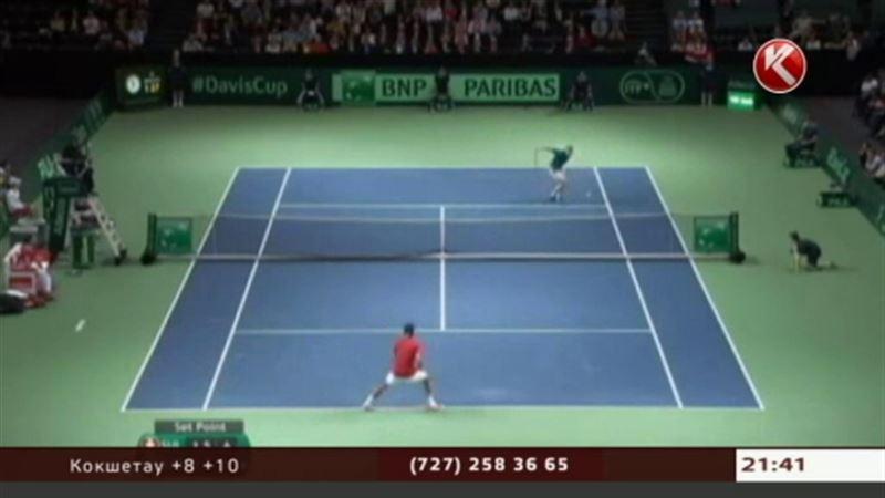 Сборная Казахстана по теннису не смогла пробиться в полуфинал Кубка Дэвиса