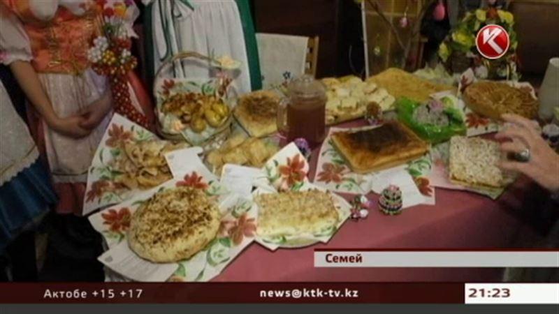 Фестиваль хлеба прошел в Семее