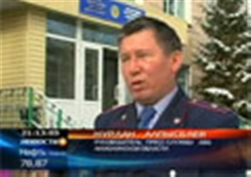 """Задержаны преступники, совершившие нападение на инкассаторов компании """"Казахалтын"""""""