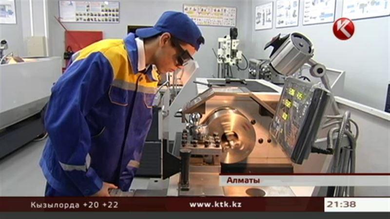 В Алматинском автомеханическом колледже установили новейшее оборудование