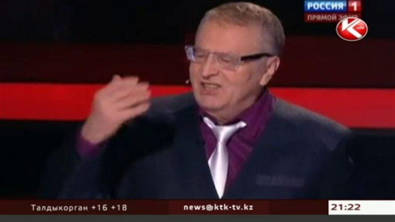 Жириновскому пришлось извиниться перед беременной журналисткой, которую он оскорбил