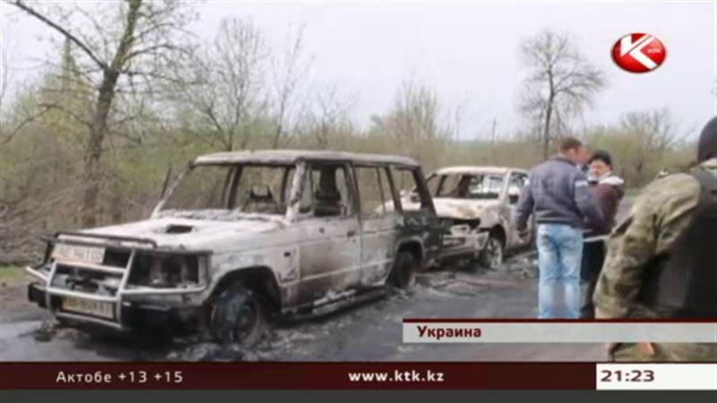 В Славянске неизвестные обстреляли три блокпоста народного ополчения
