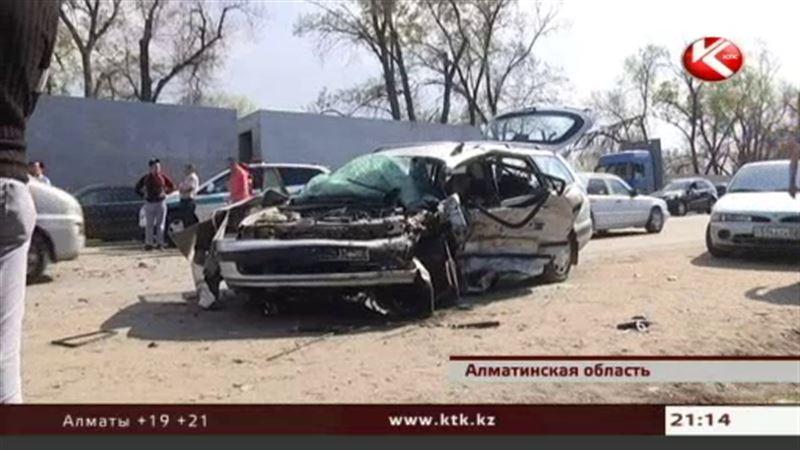 В Алматинской области в двух ДТП погибли четыре человека