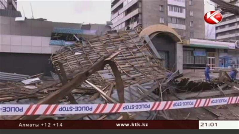 В Казахстане опять ураганные ветры и похолодание