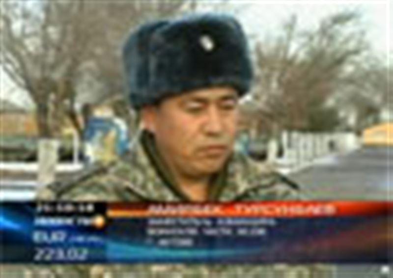В Актобе за 5 дней до демобилизации повесился солдат срочной службы