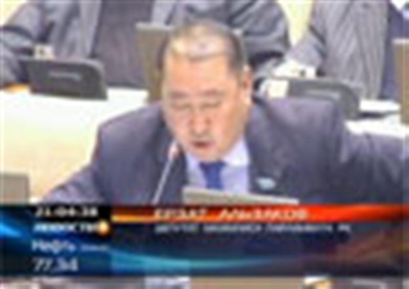 Парламентарии требуют отставки высокопоставленных чиновников КНБ, прокуратуры и органов внутренних дел Жамбылской области