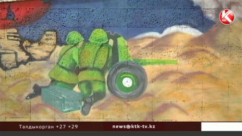 Актауским художникам разрешили к 9 Мая раскрасить набережную