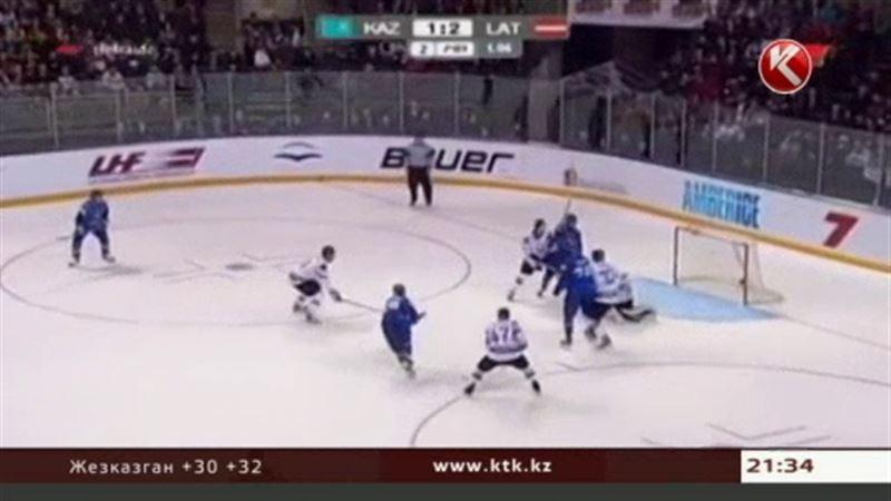 На ЧМ сборная Казахстана сыграет с давними соперниками – хоккеистами Латвии