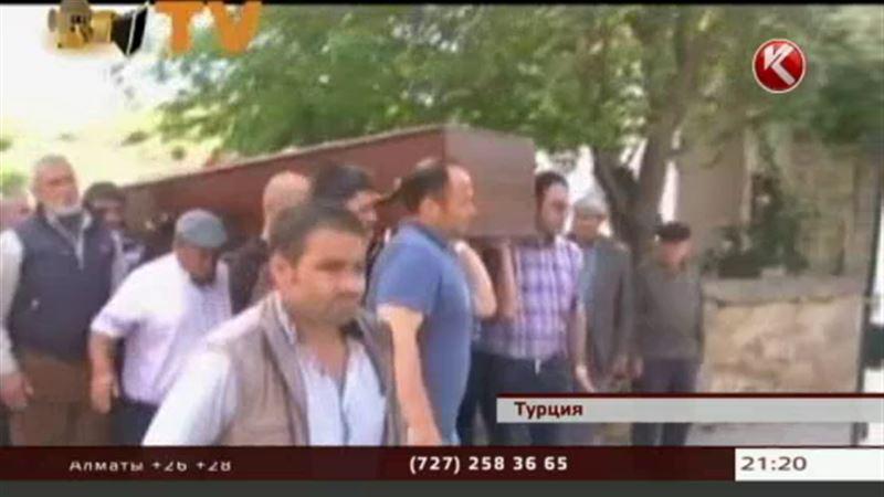 В Турции прощались с погибшими горняками
