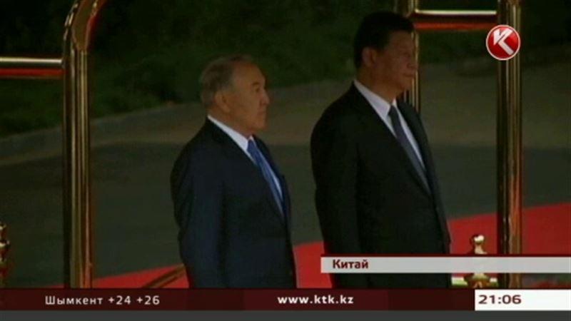Назарбаев и Си Цзиньпин «благословили» строительство грандиозного логистического терминала