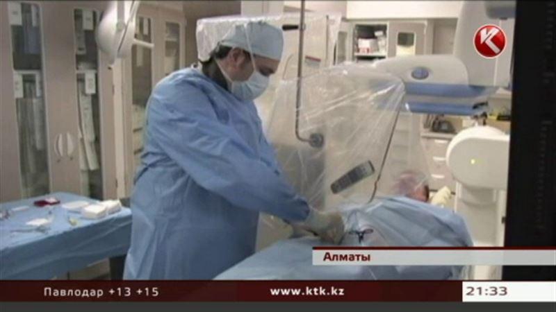 Аневризму головного мозга теперь удаляют и в Алматы