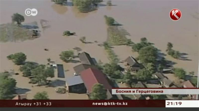 В Боснии наводнением вынесло на поверхность неразорвавшиеся мины