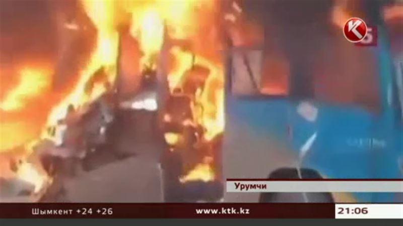 В городе Урумчи прогремела серия взрывов