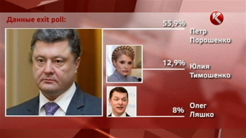«Шоколадный» миллиардер Петр Порошенко побеждает на выборах президента Украины