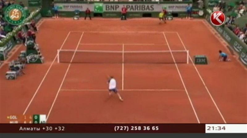 На «Роллан Гарросе» Андрей Голубев проиграл матч первого круга