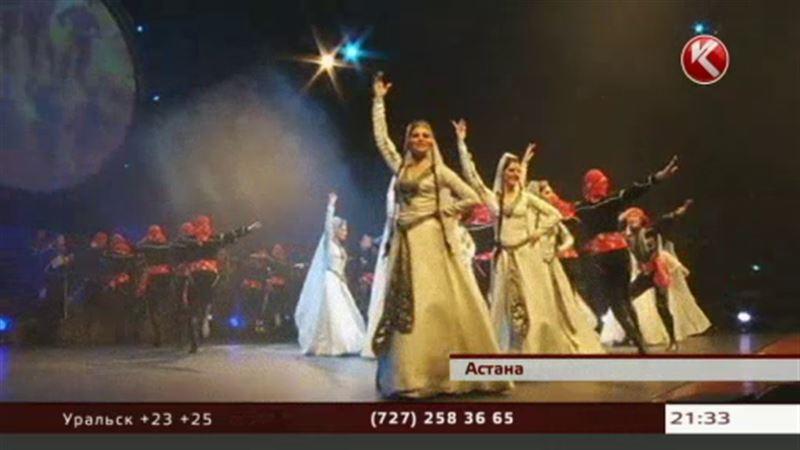 Зажигательные танцы и безупречные голоса - «Эрисиони» в Астане