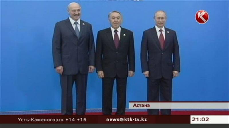 Назарбаев, Путин, Лукашенко: «Противники Евразийского экономического союза, уймитесь!»