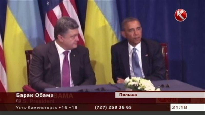 Обама обещает помочь Украине стать «процветающей страной»