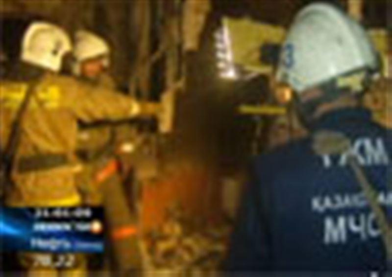 В Кызылорде за сутки из-за утечки природного газа прогремело сразу два взрыва