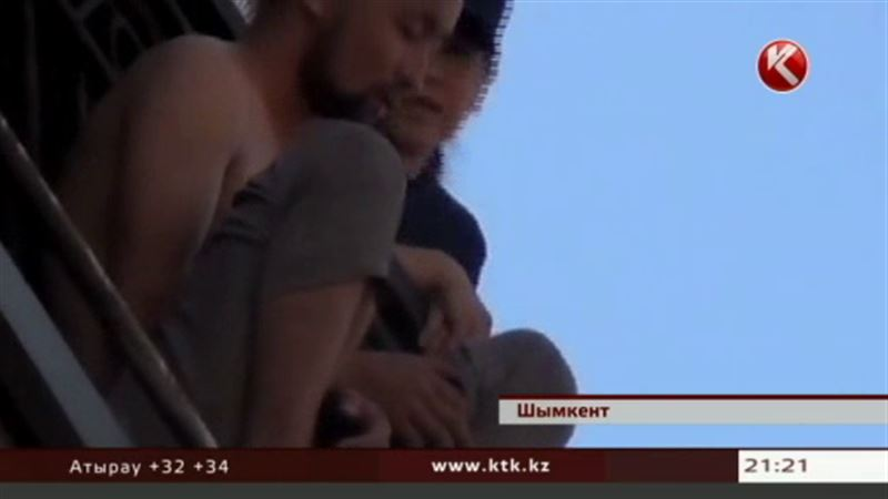 Показательное самоубийство решил устроить житель Шымкента