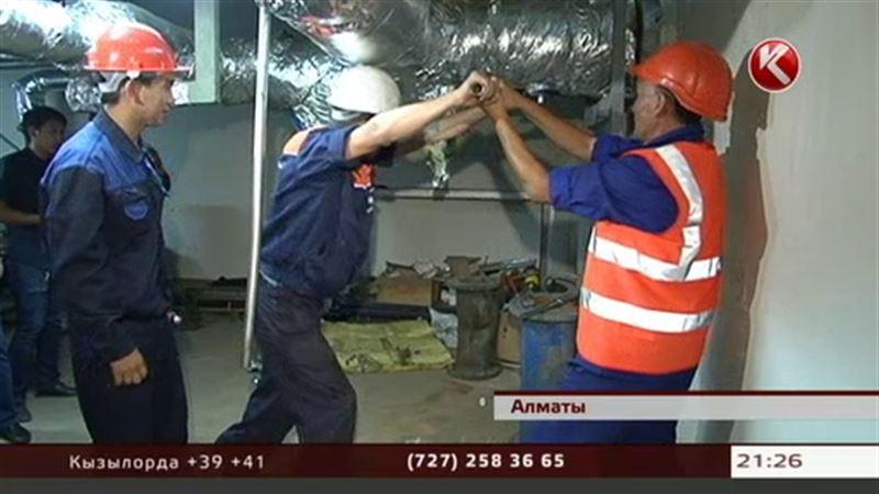Алматинцы из-за долгов останутся без горячей воды