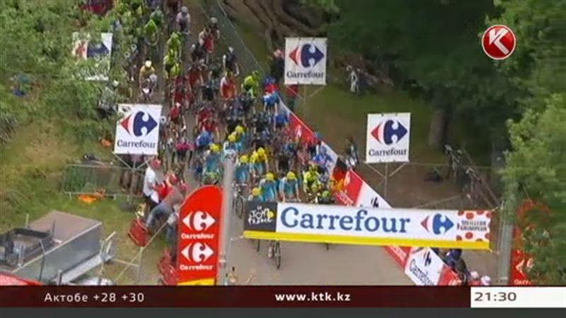 В генеральной классификации «Тур де Франс» произошла смена лидера