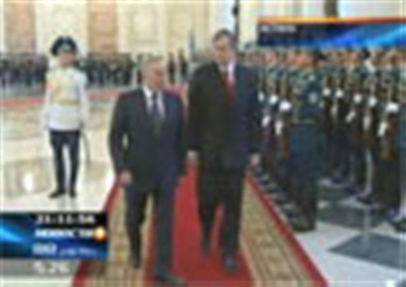 В Астане начался официальный визит в республику президента Словении Данило Тюрка