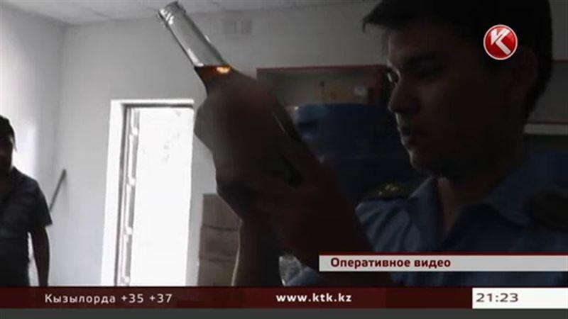 В Алматинской области научились изготавливать виски, коньяк и водку на дому