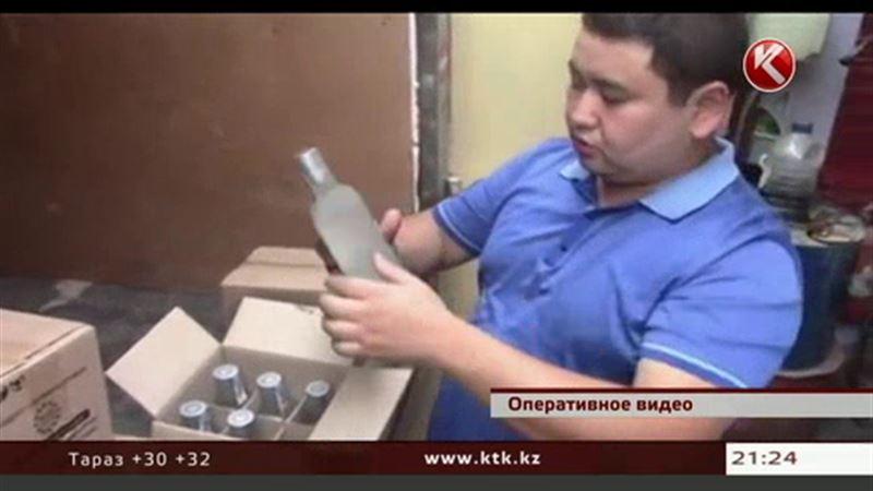 Элитные коньяк, водку и виски в Казахстане подделывают в огромных масштабах