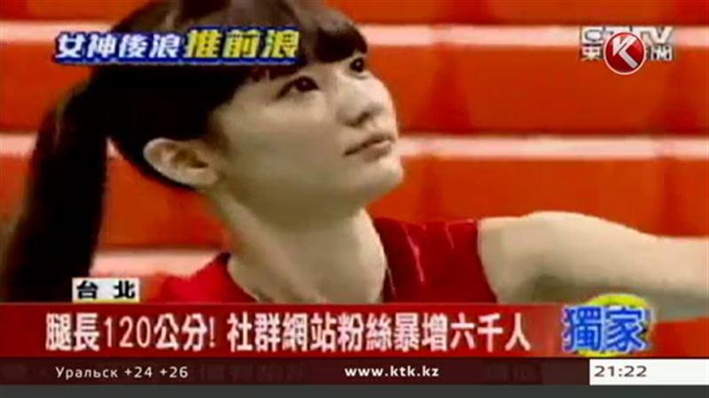 Казахстанская волейболистка, похожая на героиню аниме, покорила китайцев