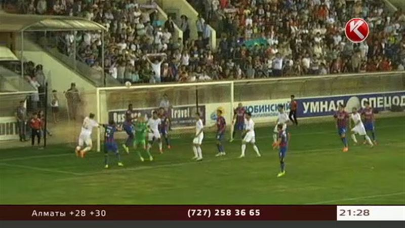 «Актобе» не сумел добиться успеха в противостоянии с румынским «Стяуа»