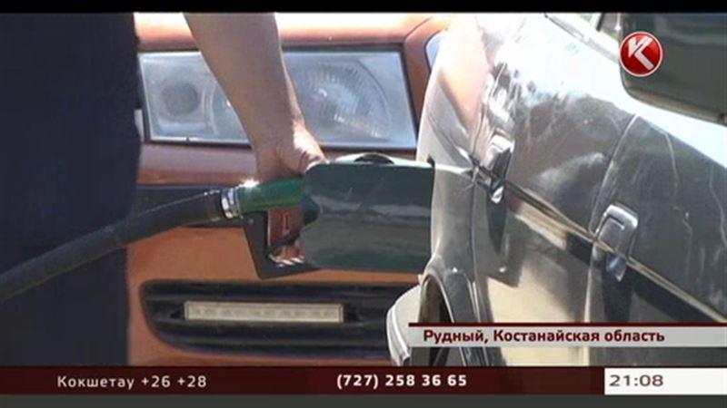 Водители Рудного жалуются, что им не продают бензин, хотя на заправках он есть