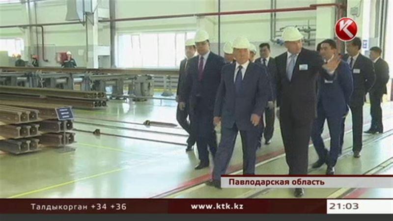 Визит Президента в Павлодар был коротким и сугубо деловым