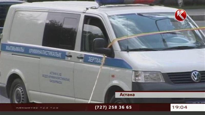 В самом центре Астаны неизвестные напали на инкассатора