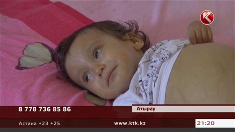 Годовалой девочке из Атырау срочно требуется пересадка печени