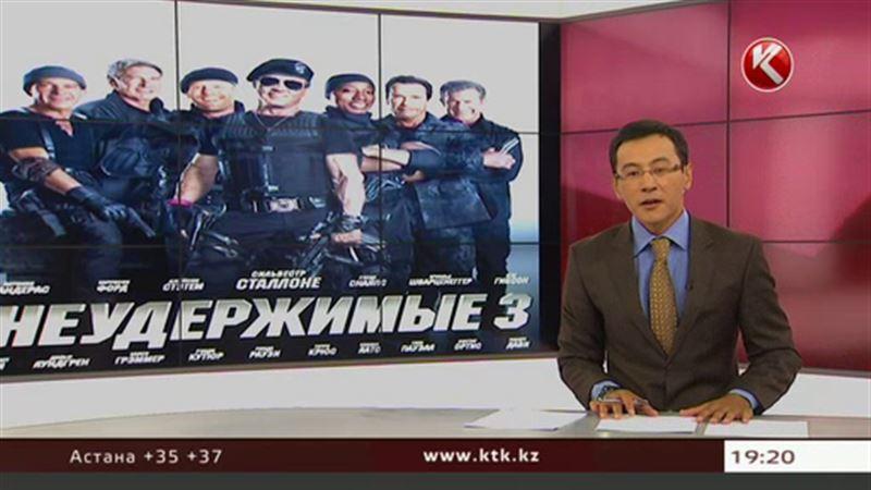 «Неудержимые» в выходные разъезжали по Алматы
