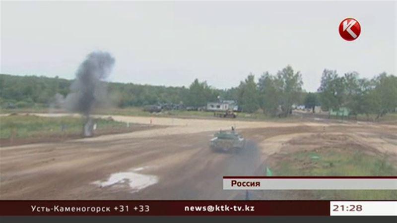 Казахстанские танки заняли в Москве второе место