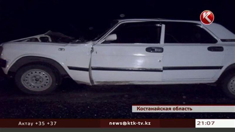 В Костанае 4 человека погибли в двух авариях с одним и тем же асфальтоукладчиком