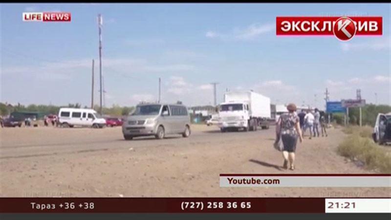 Российские грузовики с гуманитарной помощью всё же въехали на Украину