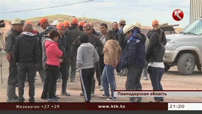 Павлодарскую шахту, где три дня бастовали горняки, неожиданно закрыли