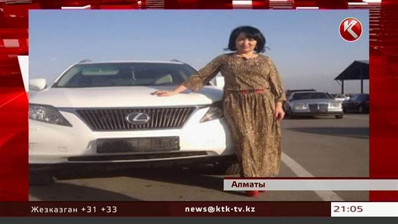 Мать Кайрата Нуртаса на своем «Лексусе» протаранила легковушку