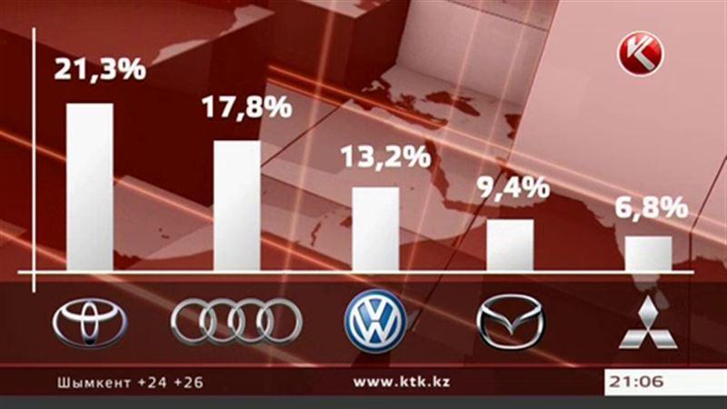 В Казахстане «Тойоты» чаще других машин попадают в ДТП