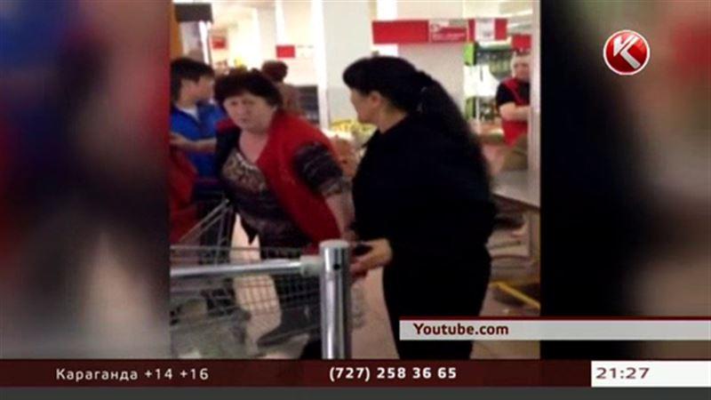 Драка в супермаркете взбудоражила интернет