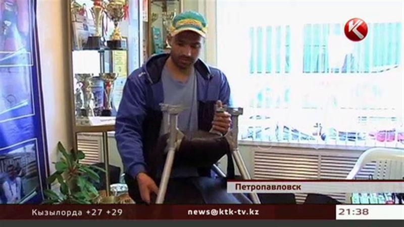 У инвалидов Петропавловска появились боб-сани