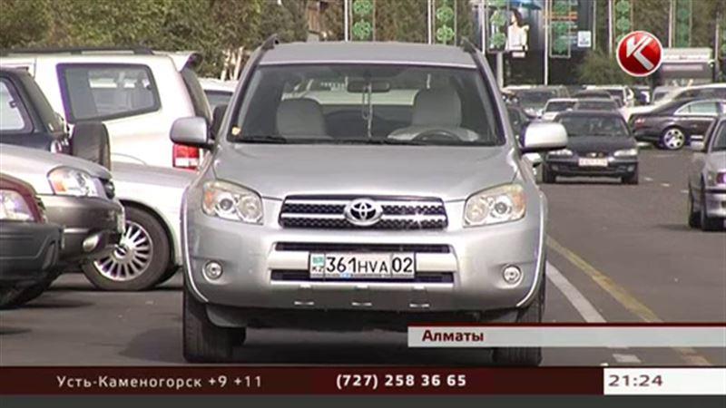 Алматинцам предлагают в понедельник бросить машины