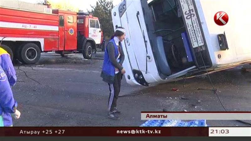 Водитель автобуса, который столкнулся с бензовозом, вышел в рейс трезвым