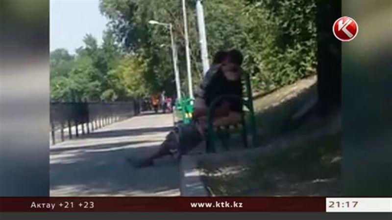 Новости - Секс на скамейке в Алматы – видео взорвало интернет