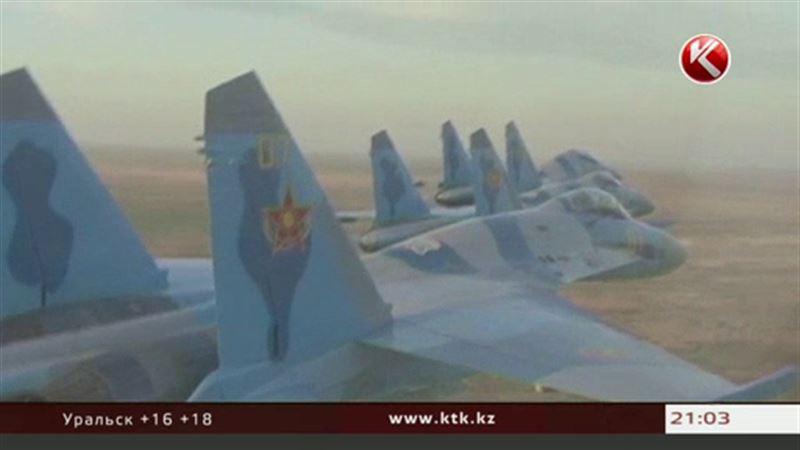В Алматинской области потерпел крушение военный самолет
