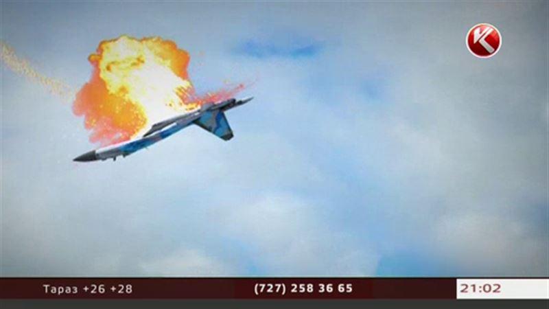 Эксклюзив КТК с места крушения истребителя Су-27